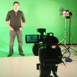 video production and green screen